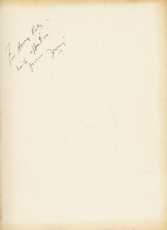 Image 1 for Irving Berlin - Inscribed Book Signed 1938 - HFSID 9281