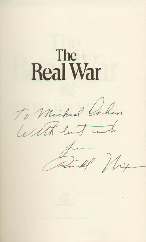 Image 1 for President Richard M. Nixon - Inscribed Book Signed - HFSID 9382