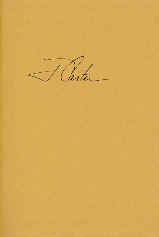 Image 1 for President James E. 'Jimmy' Carter - Book Signed - HFSID 9457