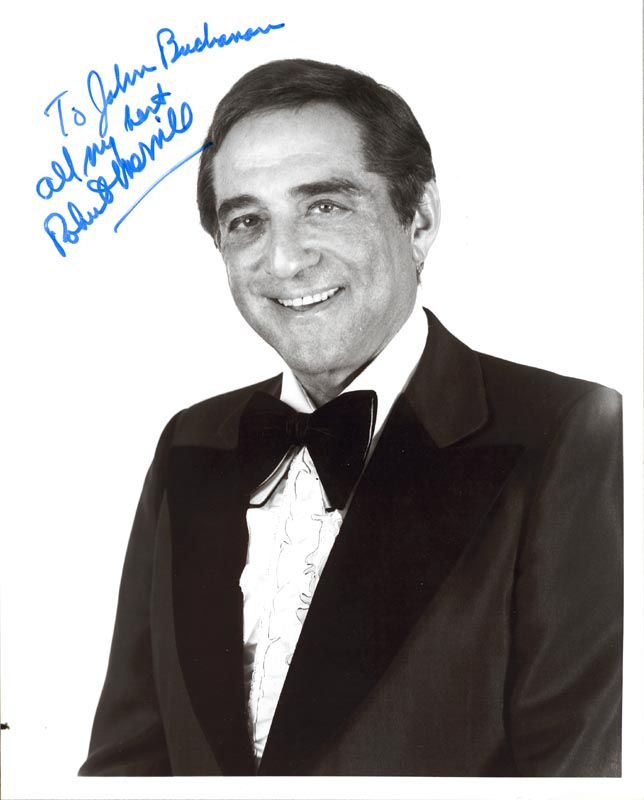 Image 1 for Robert Merrill - Autographed Inscribed Photograph - HFSID 970