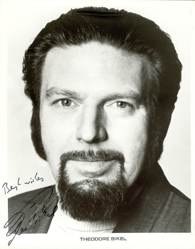 Image 1 for Theodore Bikel - Printed Photograph Signed In Ink - HFSID 979