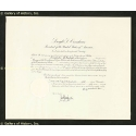 Autographs: PRESIDENT DWIGHT D. EISENHOWER - CIVIL APPOINTMENT SIGNED 12/05/1957