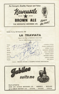 FLORIANA CAVALLI - PROGRAM SIGNED