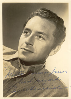 PAUL HENREID - AUTOGRAPHED INSCRIBED PHOTOGRAPH