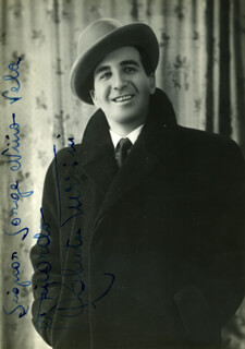 ROBERTO TURRINI - AUTOGRAPHED INSCRIBED PHOTOGRAPH