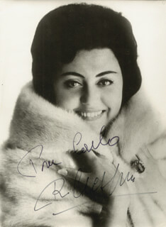 REGINE CRESPIN - AUTOGRAPHED INSCRIBED PHOTOGRAPH