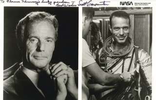 SCOTT CARPENTER - AUTOGRAPHED INSCRIBED PHOTOGRAPH