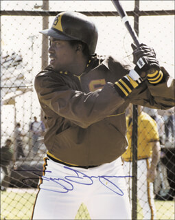 TONY GWYNN - AUTOGRAPHED SIGNED PHOTOGRAPH