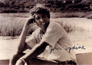 JOHN UPDIKE - AUTOGRAPHED SIGNED PHOTOGRAPH
