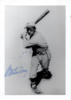 WILLIAM H. MEMPHIS BILL TERRY - AUTOGRAPHED SIGNED PHOTOGRAPH