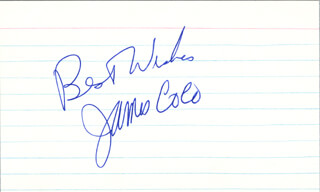 JAMES JIMMY COCO - AUTOGRAPH SENTIMENT SIGNED