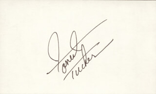 FORREST TUCKER - AUTOGRAPH