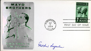 Autographs: FEODOR LYNEN - FIRST DAY COVER SIGNED