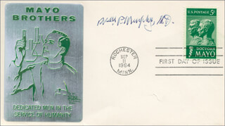 Autographs: WILLIAM P. MURPHY - FIRST DAY COVER SIGNED