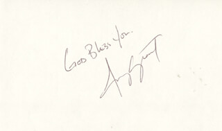 AMY GRANT - AUTOGRAPH SENTIMENT SIGNED