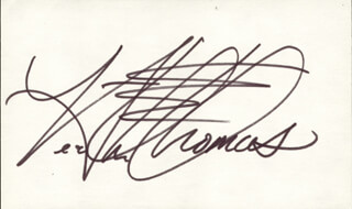 HEATHER THOMAS - AUTOGRAPH