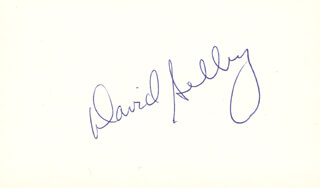 DAVID SELBY - AUTOGRAPH