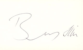 BENNY HILL - AUTOGRAPH