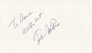 GORDON MacRAE - INSCRIBED SIGNATURE