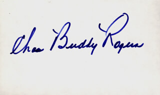 CHARLES BUDDY ROGERS - AUTOGRAPH