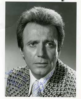 ALEJANDRO REY - AUTOGRAPHED INSCRIBED PHOTOGRAPH