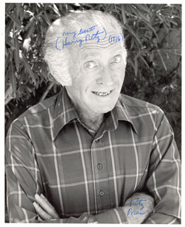 THE RITZ BROTHERS (HARRY RITZ) - AUTOGRAPHED SIGNED PHOTOGRAPH 1976