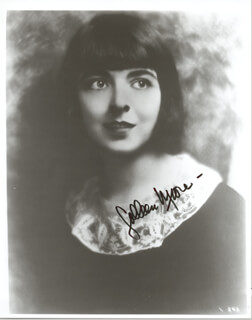 COLLEEN MOORE - AUTOGRAPHED SIGNED PHOTOGRAPH