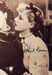 IRENE DUNNE - AUTOGRAPHED SIGNED PHOTOGRAPH