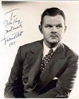 LAWRENCE TIBBETT - AUTOGRAPHED INSCRIBED PHOTOGRAPH 1937