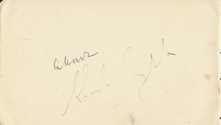 CHARLES LAUGHTON - AUTOGRAPH CO-SIGNED BY: SIR ALEXANDER KORDA