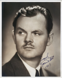 LAWRENCE TIBBETT - AUTOGRAPHED SIGNED PHOTOGRAPH 1937
