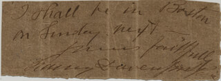 CHARLES BENEDICT DAVENPORT - AUTOGRAPH NOTE SIGNED