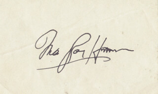INA RAY HUTTON - AUTOGRAPH