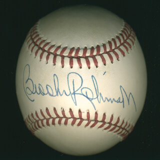 BROOKS ROBINSON - AUTOGRAPHED SIGNED BASEBALL