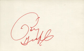 BETTY GRABLE - AUTOGRAPH