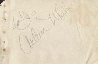 ARLEEN WHELAN - INSCRIBED SIGNATURE