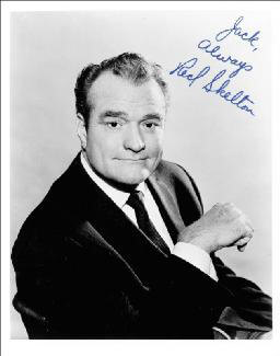 RED SKELTON - AUTOGRAPHED INSCRIBED PHOTOGRAPH