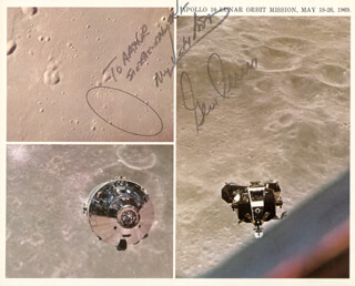 CAPTAIN GENE CERNAN - AUTOGRAPHED INSCRIBED PHOTOGRAPH