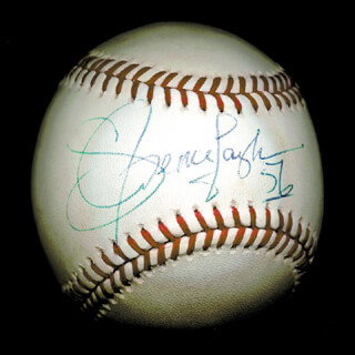LAWRENCE TAYLOR - AUTOGRAPHED SIGNED BASEBALL