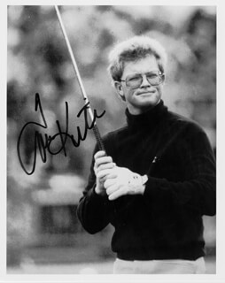 TOM KITE JR. - AUTOGRAPHED SIGNED PHOTOGRAPH