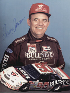 BENNY PARSONS - AUTOGRAPHED SIGNED PHOTOGRAPH