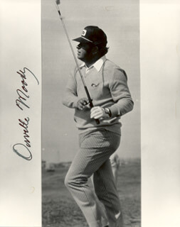 ORVILLE MOODY - AUTOGRAPHED SIGNED PHOTOGRAPH