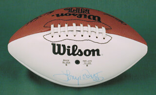 TONY DORSETT - FOOTBALL SIGNED
