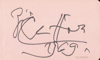 GEORGE CZIFFRA - AUTOGRAPH 1969 CO-SIGNED BY: THE VEGH STRING QUARTET , THE VEGH QUARTET (SANDOR VEGH), THE VEGH QUARTET (GEORGES JANZER), THE VEGH QUARTET (PAUL SZABO)