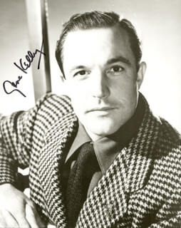 GENE KELLY - AUTOGRAPHED SIGNED PHOTOGRAPH