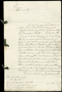 QUEEN VICTORIA (GREAT BRITAIN) - MANUSCRIPT DOCUMENT SIGNED 11/06/1851 CO-SIGNED BY: SIR GEORGE GREY
