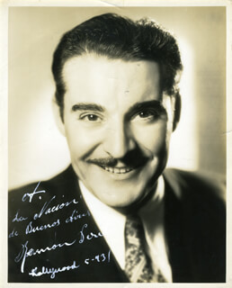 RAMON PEREDA - AUTOGRAPHED INSCRIBED PHOTOGRAPH 5/1931