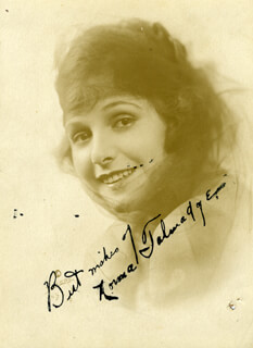 NORMA TALMADGE - AUTOGRAPHED SIGNED PHOTOGRAPH