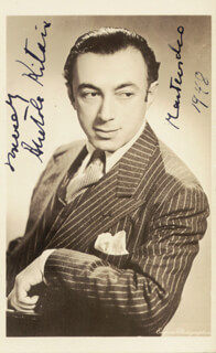ANATOLE KITAIN - AUTOGRAPHED SIGNED PHOTOGRAPH 1948