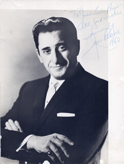 JAN PEERCE - AUTOGRAPHED INSCRIBED PHOTOGRAPH 1962